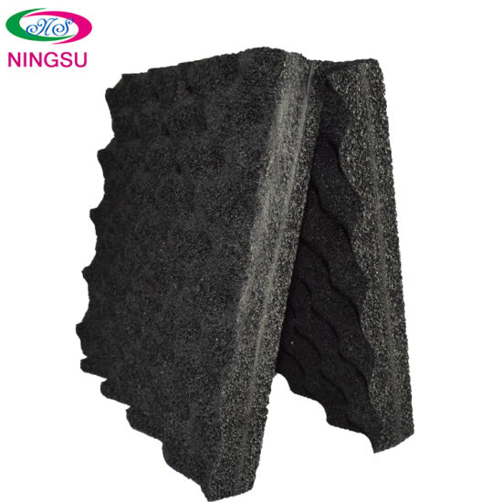 Rubber-Plastic Wave with Good Sound Insulation Effect