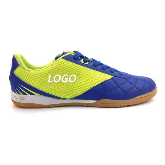 Indoor Futsal Shoes, Hot Selling Soccer Shoes, High Quality Football Shoes for Man pictures & photos
