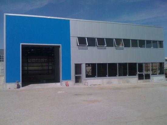 Prefab Steel Structure Workshop (SSW-569)