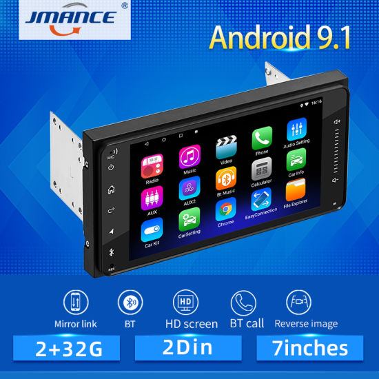 2 Din Android 9 1 Car Multimedia Player Car Radio Player Stereo For Toyota Vios Crown Camry Hiace Previa Corolla Rav4 China 2 Din Android 9 1 Made In China Com