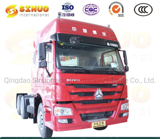 Used Sinotruk HOWO 10X Wheels Tractor Truck Heavy Duty Truck 371HP 375 6X4 Trailer Head China Second Hand Tractor Head Truck Hot Sale Africa