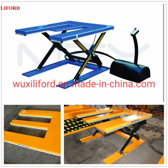 E Type Electric Hydraulic Scissor Lifting Tables He1500