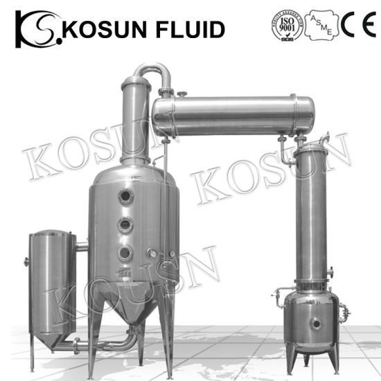 Stainless Steel Herbal Rose Essential Oil Slovent Extraction Machine pictures & photos