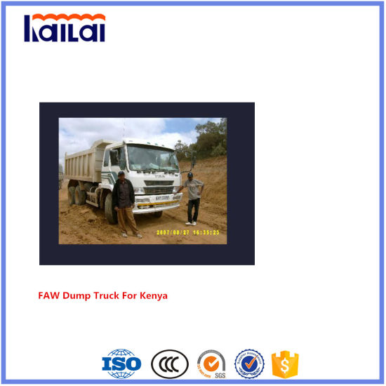 FAW Truck 6X4 Dump Truck Rhd in Kenya Market 2018 Best Selling
