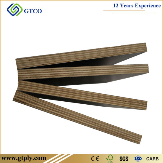 Anti-Slip Black Film Faced Construction Marine Plywood