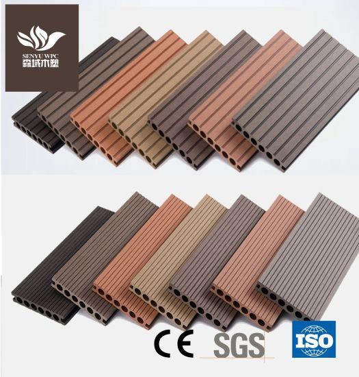 Outdoor WPC Decking Plastic Lumber Wood Flooring Composite Wholesale Deck Board