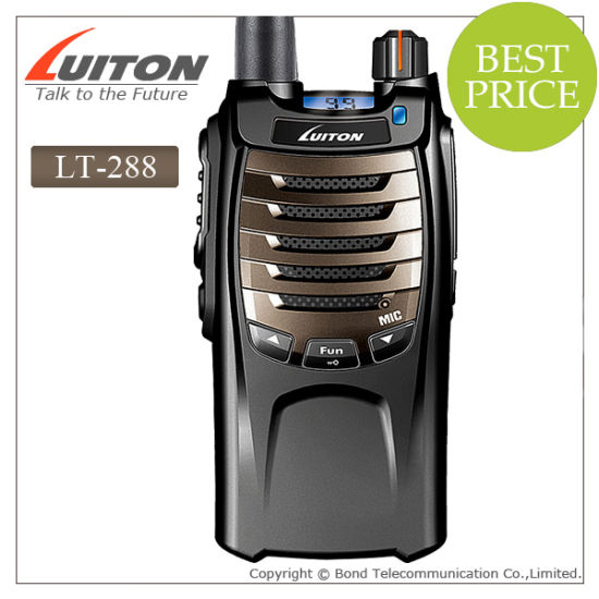 IP54 Waterproof Portable Two Way Radio Lt-288 pictures & photos