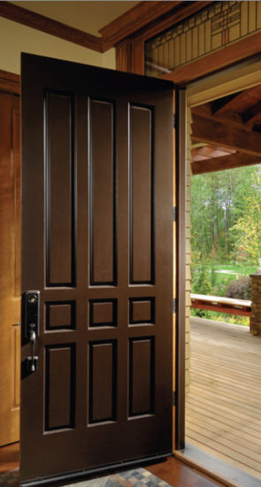 Alibaba China Design Gate Front Door Designs Wooden Pictures Photos