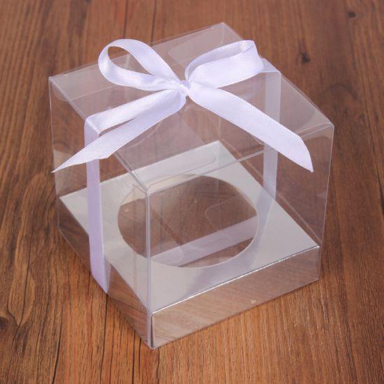 Factory Price Custom Foldable Clear Plastic PVC Acetate Box