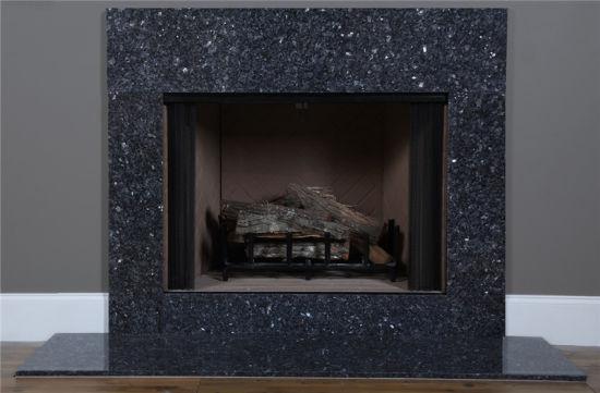 Black Granite Fireplace Surround For, Black Granite Tile Fireplace Surround