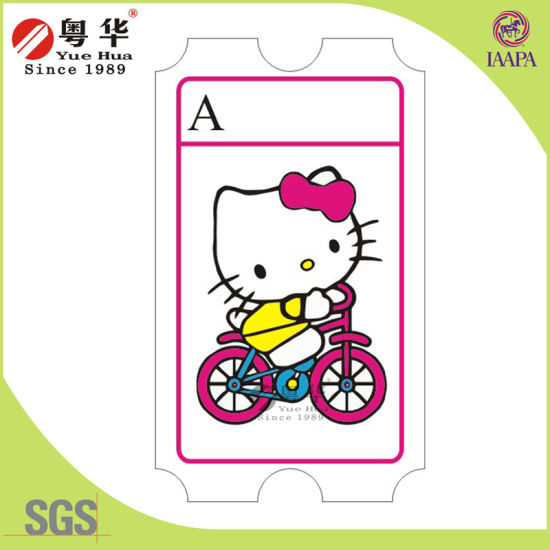 factory directly price high quality custom cheaper amusement games lottery ticket printing redemption arcade tickets