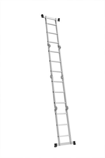 Folding Multi-Purpose Ladder with 12 Steps pictures & photos