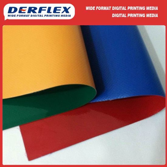 Hot Sale PVC Coated Polyester Fabric for Truck Cover