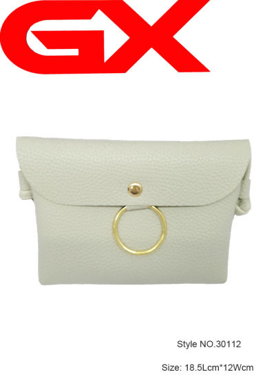 Crossbody Clutch Bag Coin Purse PU Leather Women Wallet (NO. 30112)