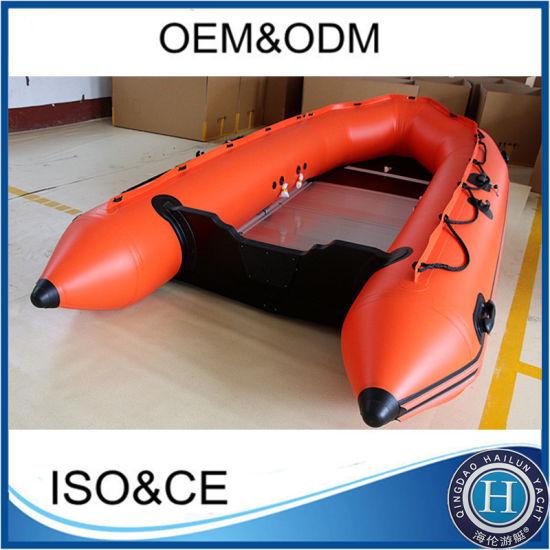 Foldable Aluminum Floor Inflatable Sports Boat Fishing Boat