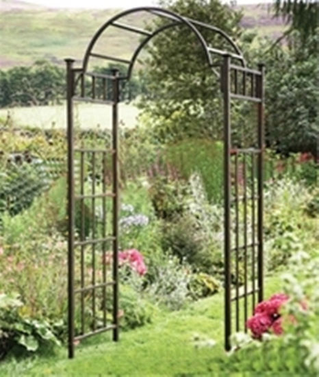 High Quality Wrought Iron Garden Arch for Garden Furniture pictures & photos