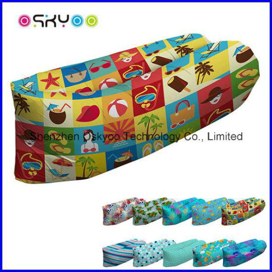 China Factory Price Inflatable Air Sofa Sleeping Bag Air Bed China