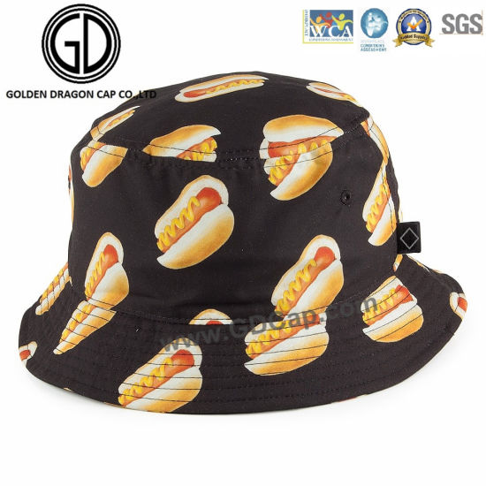 New Design Funny Leisure Sport Bucket Hat with Custom Pattern pictures    photos 201bb995dbf