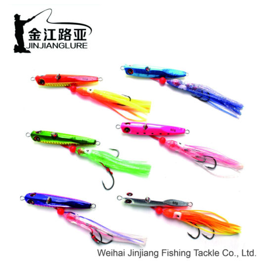 Wp-24 Slow Pitch Snapper Fishing Tackle Artificial Bait Saltwater Fishing  Lures Inchiku Jigs