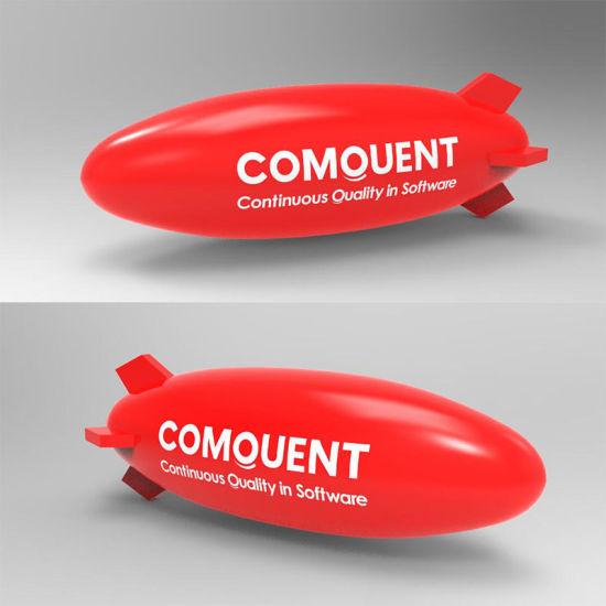 Inflatable Zeppelin for Advertisement