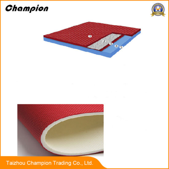 Gym China Facroty Sale PVC Sports Flooring for Indoor Gym