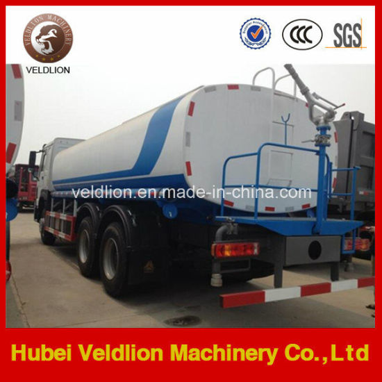 6X4 HOWO 20tons, 22, 000 Litres Water Sprinkler Truck pictures & photos