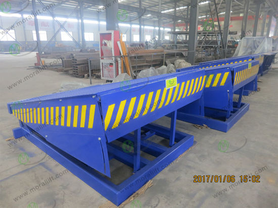 8t Hydraulic Loading Dock Ramps for Sale pictures & photos