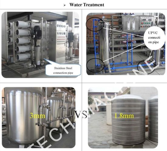 Pure Water Treatment System/ Reverse Osmosis Water Treatment Machine (UT-4) pictures & photos
