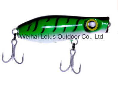 High Quality Wood Lure Vmc Hook Wood Lure Fishing Lure Fishing pictures & photos