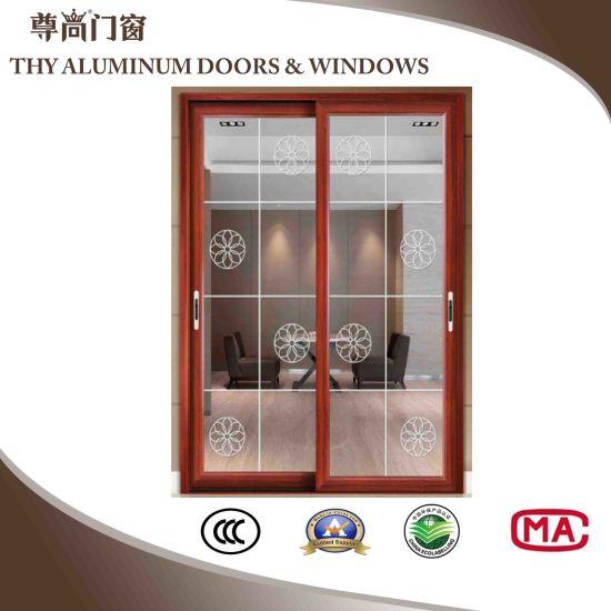 China Aluminium Interior Doors Exterior Doors With Louvershutter