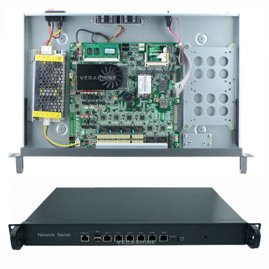 China Intel 1037u 6 Gigabit LAN Firewall Appliance / Router Support