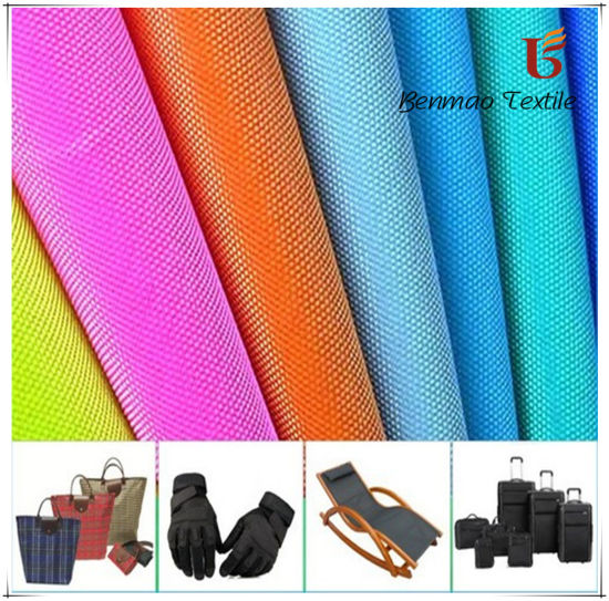 F/R W/P Polyester Oxford Fabric with PVC/PU/PEVA/EVA/TPU pictures & photos