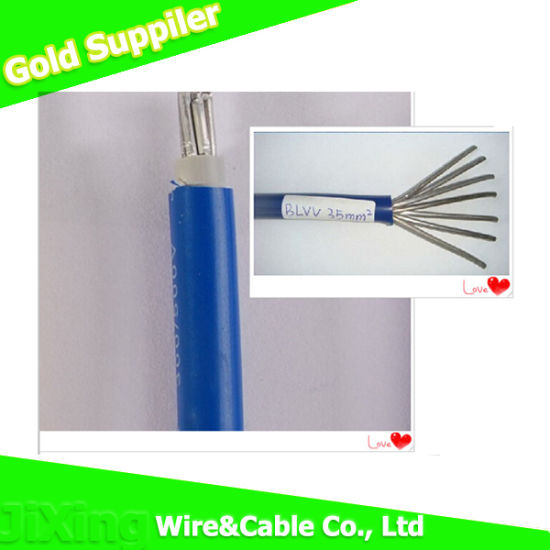 China PVC Insulated Wire Blvv Type Solid Aluminum Wire - China ...
