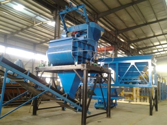 China 60m3 Movable Concrete Mixer Plant Price in Kenya Hls