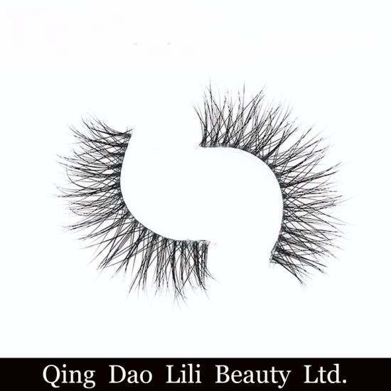 81abea3c6d9 Magnetic False Eyelashes 3D Mink Lashes with Private Label Branding  Packaging pictures & photos