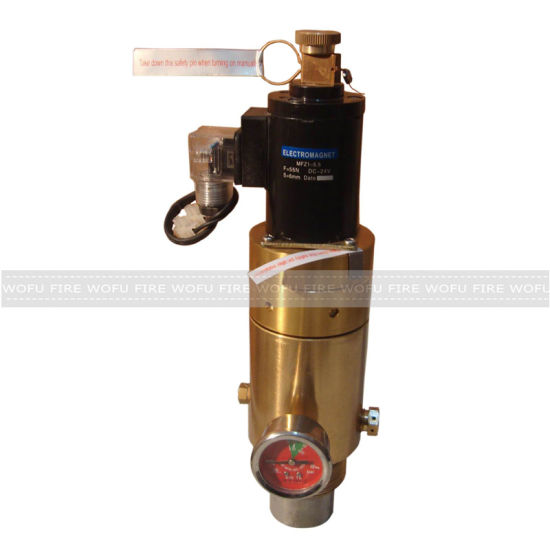 Hfc-227ea Fire Suppression System Cylinder Valve pictures & photos