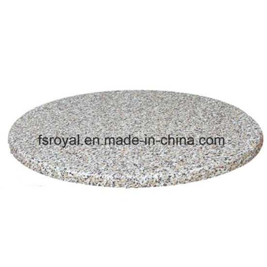 China Good Quality Restaurant Canteen Furniture Outdoor Dining Table Granite Look Table Top China Restaurant Furniture Restaurant Table
