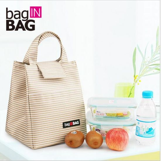 Women Casual Pack Lunch Bags Insulation Bags Pack Ice Bag Rice Portable  Canvas Board Box Portable 2634706d87
