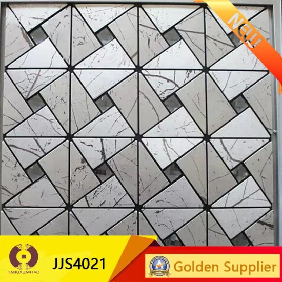 Home Decoration Tempered Glass Mosaic Wall Tile (JJ1835) pictures & photos