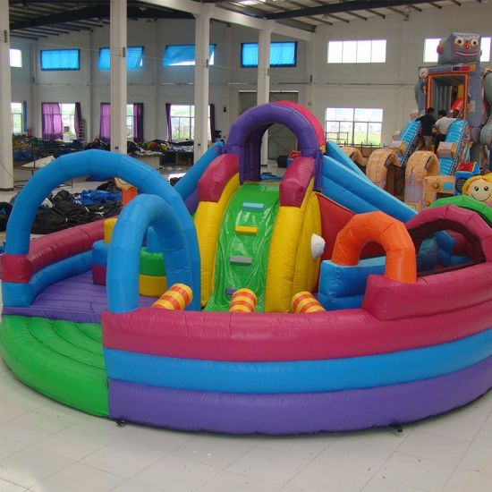 Customized Kids Inflatable Funcity for Park