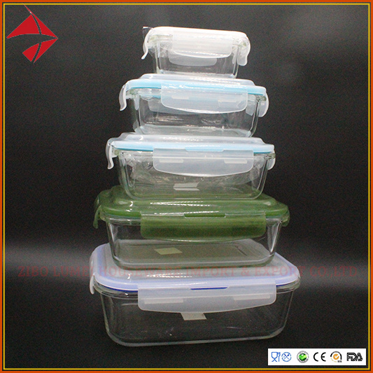 Food Storage Usable Heat-Resistant Borosilicate Glass Made Vacuum Container with Pump pictures & photos
