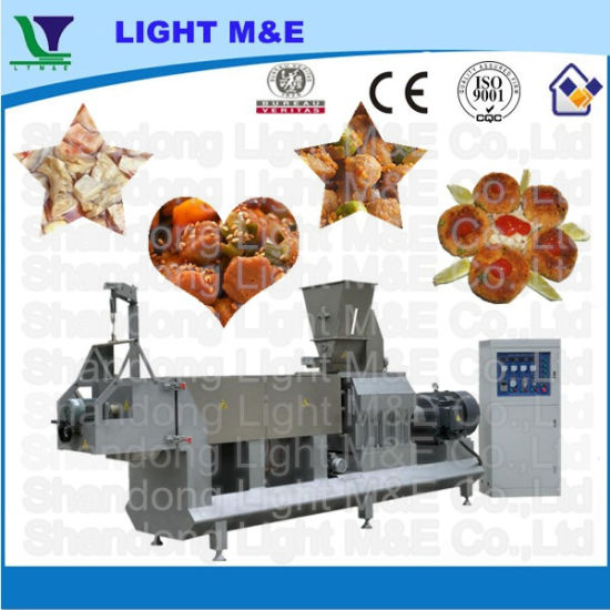 Hot Selling Industrial Automatic Extruded Soya Chunks Machines pictures & photos