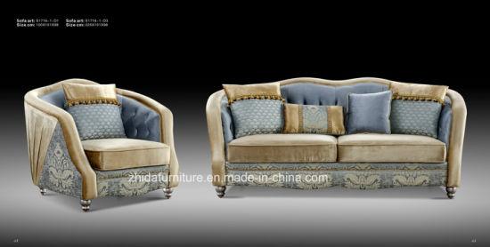 Unique Design Fabric Sofa, Factory Price Good Quality, Home Sofa
