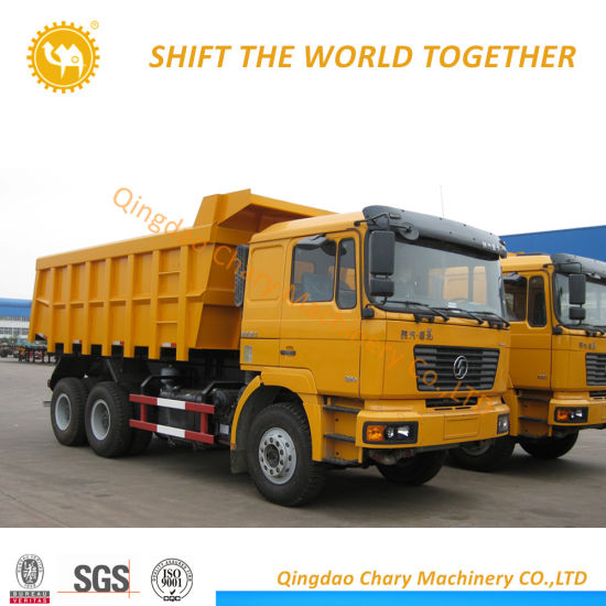 Chinese 6X4 16 Cubic Meter 30 Ton Sand Tipper Truck Shacman Dump Truck
