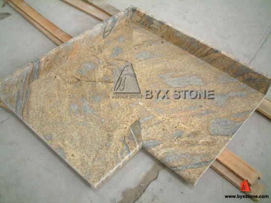 Brown / Yellow / White Granite Countertops for Kitchen / Hotel Project pictures & photos