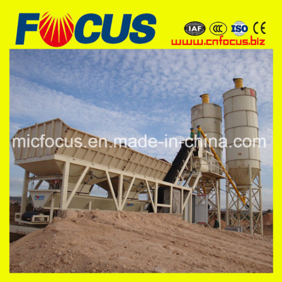 Yhzs35 35m3 Mini Mobile Concrete Batching Plant for Sale pictures & photos