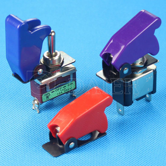 Sac-1 Colorful Safety Guard Toggle Switch Aircraft Cover