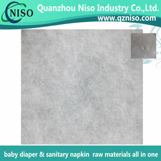 Breathable Hydrophobic SMS Nonwoven Fabric for Diaper with ISO (FH-036) pictures & photos
