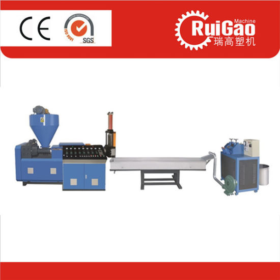 Water Cooling Single Screw Cost of Plastic Recycling Machine Price