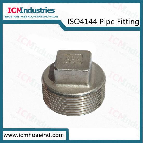 Stainless Steel Squard Plug Threaded Fittings